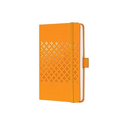 SIGEL JN210 Jolie libreta de notas - a líneas - 9,5 x 15 cm - hardcover - 174 páginas - orange