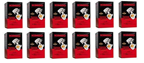 216 Kaffeepads Kimbo Espresso Napoletano Kaffee Coffee in einzelnen Paketen pads