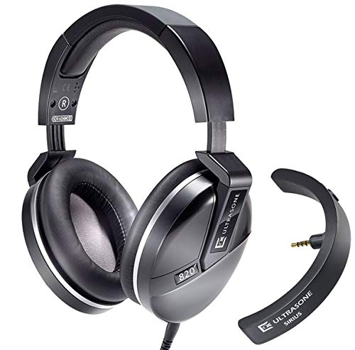 Ultrasone Performance 820 BK hoofdtelefoon zwart + Sirius Bluetooth-adapter