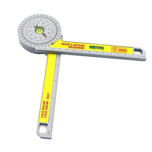 Gehrungssäge Winkelmesser, Kunststoff Winkelmesser Winkelmessung Transfer Holzbearbeitung Gehrungssäge Winkelmesser Horizontalwinkelmesser