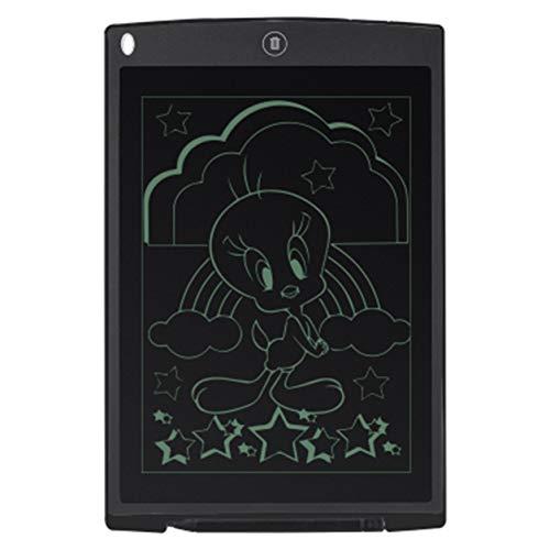 Color Yun Tableta de Dibujo Digital LCD Ultrafina de 12 Pulgadas, Tablero de Dibujo, Tablero gráfico electrónico con Alfombrilla de ratón y Regla
