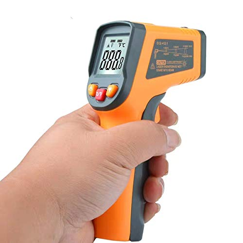 Non-Contact IR Infrared Thermometer Laser Temperature Measurement Instruments Temperature Analysis Test Gun Digital LCD