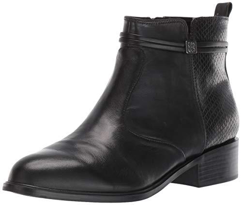 Bandolino Footwear Women's Danny Ankle Boot, Black, 10