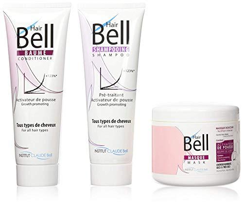 Veana Claude Bell Hair Shampoo, conditioner, masker, per stuk verpakt (1 x 3 stuks)