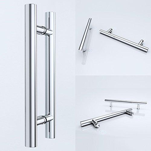 Mai & Mai Manija de barra TK02 manija de la puerta manija diámetro del tubo: 25 mm de acero inoxidable
