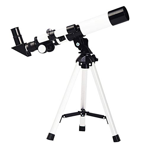 Best Bargain SXNYLY Telescopes for Adults Kids Astronomy Beginners for View Moon Planet – Portable Refractor Telescope with Adjustable Tripod Finder Scope Phone Adapter (Size : Children's Models)
