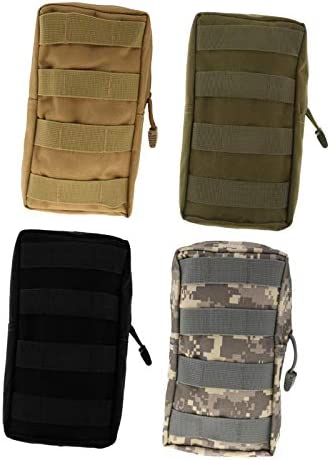 Milageto 4pcs Holdable Tool Bag Toiletry Bag Tool Box ACU Camouflage product image