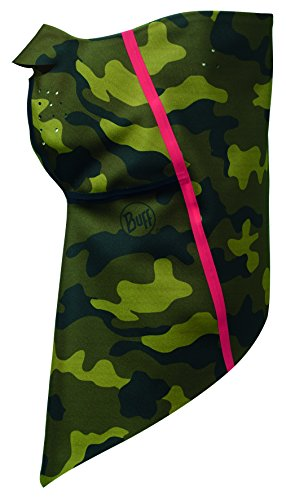 Buff 113374.846.30.00 Tour de Cou Mixte Adulte, Green Hunt Military L/XL, FR Fabricant : Taille Unique