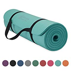 Fitness and exercise mat: Classic yoga mat is great for all types of fitness and exercise routines including yoga, pilates and any floor exercise where additional cushion and support is appreciated Extra thick yoga mat: These 2/5 inch exercise mats m...