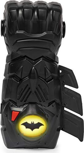 BATMAN 6055953 - Batman Interaktiver Action-Handschuh mit Licht- und Soundeffekten, für Kinder ab 4Jahren
