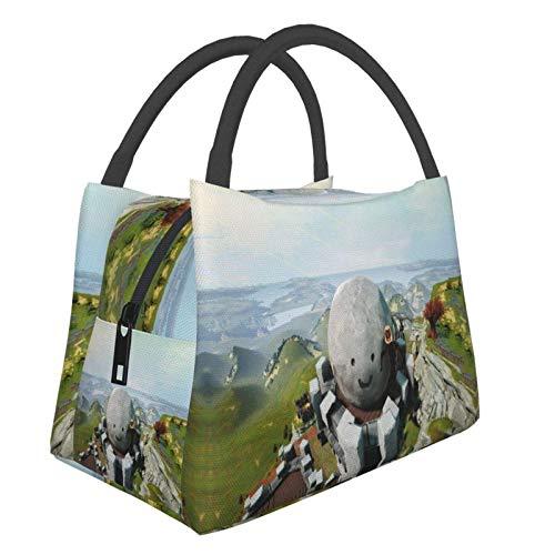 Ro of Ages - Bolsa de almuerzo para mujer, tamaño pequeño, para ir de compras, escuela, picnic, viajes, camping
