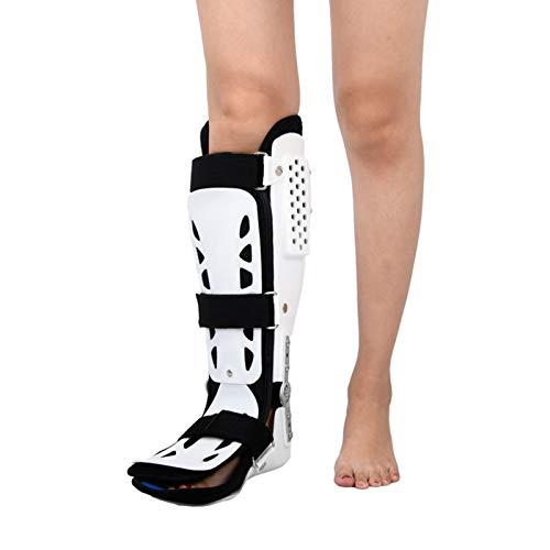 Nofpjqj Ortesis inmovilizadora de Rodilla, Zapato de fijación de Tobillera, Soporte de Tobillo versátil para Pierna Izquierda o Pierna Derecha