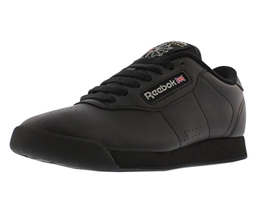 Reebok Princess, Zapatillas Mujer, Negro (Black), 38 EU