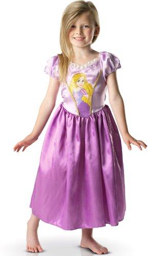 Rubie's-déguisement officiel - Disney- Déguisement  Costume Raiponce + Tresse Large- A1102401