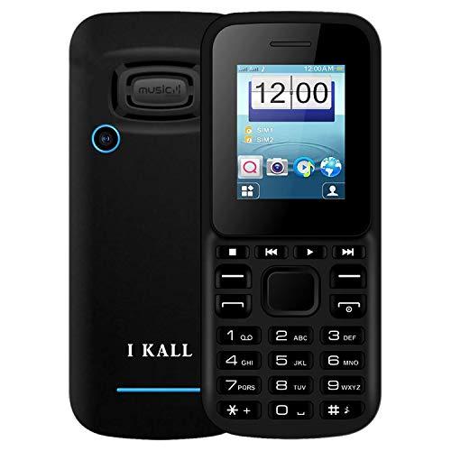 I KALL K15 Multimedia Premium Mobile (1.8 Inch, Dual Sim, 1000 mAh Battery) (Blue)
