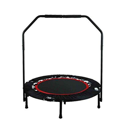 begorey Mini Trampolino Elastico Pieghevole Portatile con Maniglia Jumping Fitness Carico di 130kg
