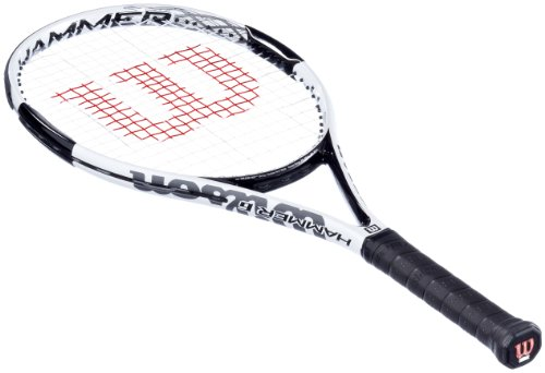 Wilson Herren Tennisschläger Hammer 6, Silber/Weiß/Schwarz, 2, WRT653000