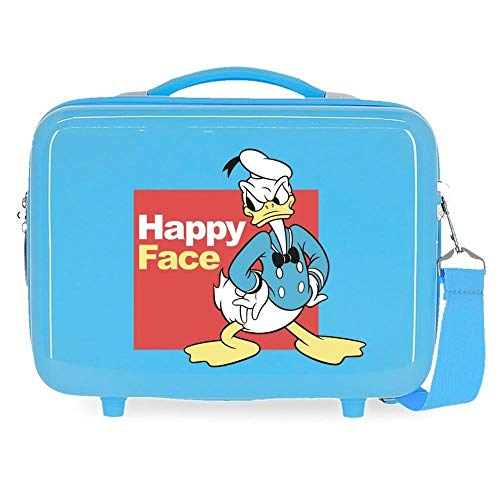 Disney Mickey and Friends Neceser Adaptable Azul 29x21x15 cms Rígido ABS 9,14L 0,84 kgs