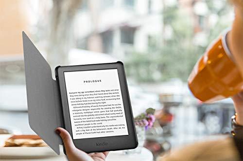 MoKo Hülle für Kindle 10.Generation 2019 Release, Ultra Slim Lightweight Kunstleder Schutzhülle Smart Cover mit auto Sleep / Wake Geeignet für Kindle E-reader 2019 - JahrgangsloserStil