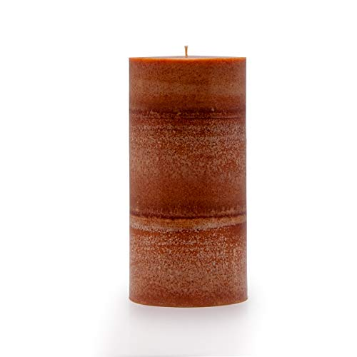 Wicks N More Pumpkin Perfect Hand Crafted Pillar Candles (3x6)