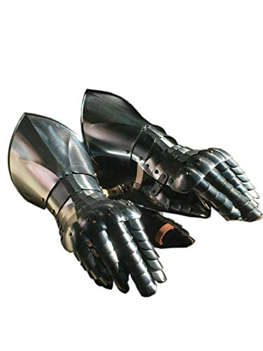 Medieval Knight Gauntlets Metal Glove Plate Armour