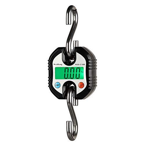WARM ROOM Báscula para grúa, báscula Digital para Colgar, 150 kg x