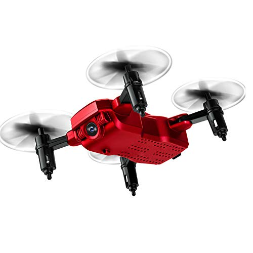 XRFF Drone, Vouwen Mini Drone HD Luchtvaartuig Fotografie Vliegtuigen Four-Axis Afstandsbediening Vliegtuig Headless Mode One-Button Return