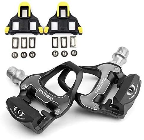 PROMEND Automatic Pedals for Road Bikes Racing Bikes + SPD-SL Wedges,...