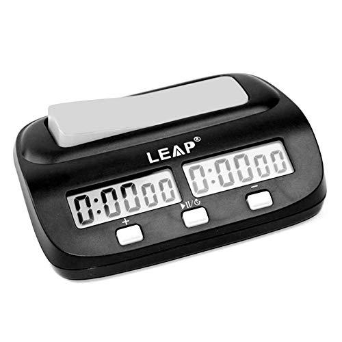 CaLeQi Reloj Digital de Ajedrez, Tiene Una Caja de Regalo de Marca, Jugador.