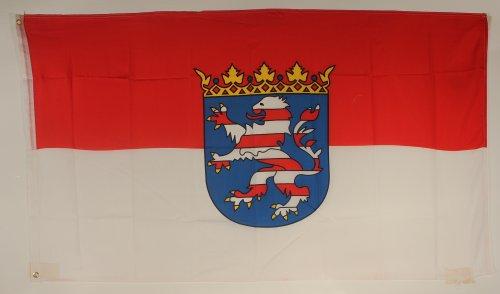 Flagge Fahne ca. 90x150 cm : Hessen hessische Hessenflagge