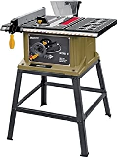 ROCKWELL/WORX SS7202 4500 rpm 120VAC 13 Amp Rockwell Bench Top Table Saw Leg Stand with 10