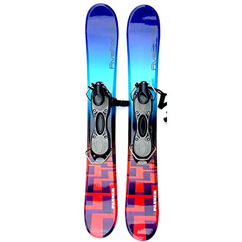 SnowJam Five Forty Panzer 75cm Skiboards Snowblades with ski Boot bindings 2020