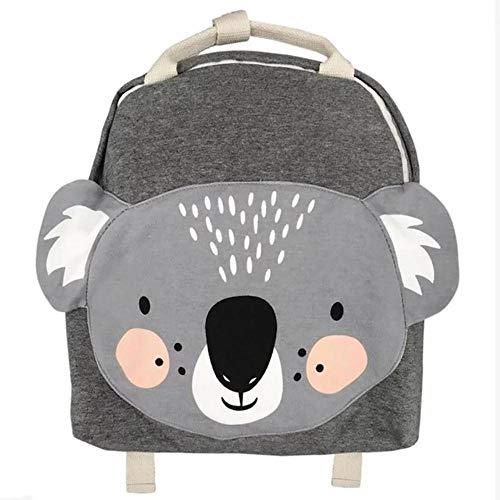 Mingi Animals Pack Mochila para niños Mariposa/Mono/Conejo Juguete Niños Kindergarten Mochila Escolar Regalo Niños Juguete para niñas Niños Bolsas, Koala, 33cm