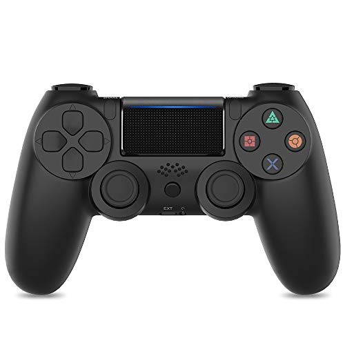 Controller per PS4, VINSIC Wireless Joystick per Playstation 4, Controller di Gioco Senza Fili con Joypad del Dualshock per PS4 Slim/PRO And PC