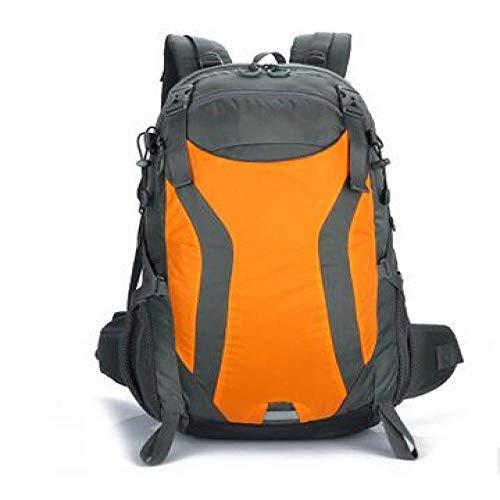 Hiking Backpack Yuan Ou Backpack Men&Women Outdoor Camping Bag Mountaineering Hiking Travel Backpacks Waterproof Sports Bag Orange