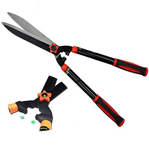 Find Bargain XPKZYSLJ-J Clippers Trimmers Pruners Heavy Duty Hedge Shears, Sharp Wavy Manganese Stee...