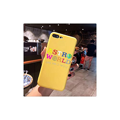 Look Mom I Can Fly Candy Color TPU Case Phone for iPhone X 7 Xs Xr 11 11Pro 11Promax Astroworld Wish You were Here Travis Cover,for iPhone Xs Max,123881