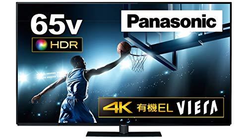 パナソニック 65V型 4K対応 有機EL テレビ VIERA Ultra HD プレミアム対応 2番組同時裏録対応 TH-65FZ950