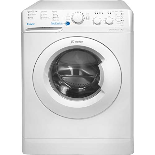 INDESIT BWC61452W Innex 6kg 1400rpm Freestanding Washing Machine - White