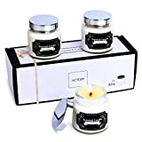ACTOPP Candle Duftkerze im Glas 3 Stücke Duftkerzen Geschenkset 100% Sojawachs Kerzen Aromatherapie...