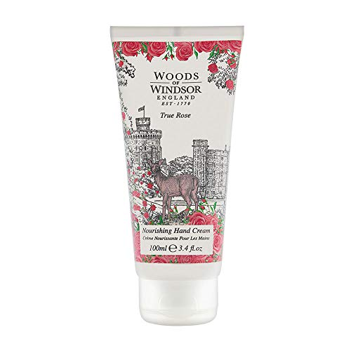 WOODS OF WINDSOR TRUE ROSE by Woods of Windsor HAND CREAM 3.4 OZ