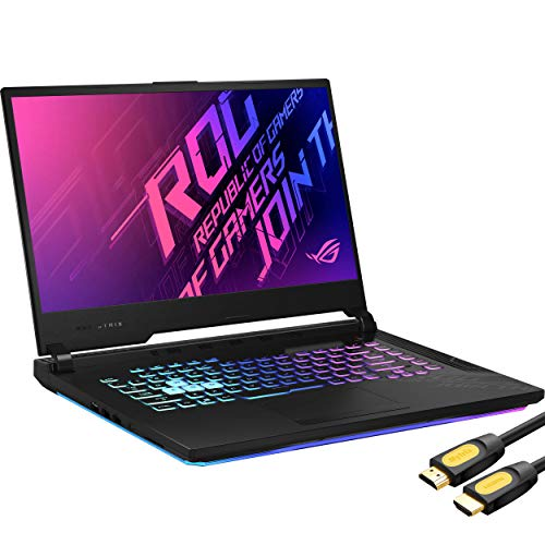 "ASUS TUF Gaming A15 144Hz Gaming Laptop, 15.6"" IPS FHD, AMD Ryzen 7 4800H 8-Core up to 4.20 GHz, GTX 1660 Ti, 16GB RAM, 512GB SSD, RJ-45 LAN, Mytrix HDMI Cable, Win 10 QWERTY US Version"