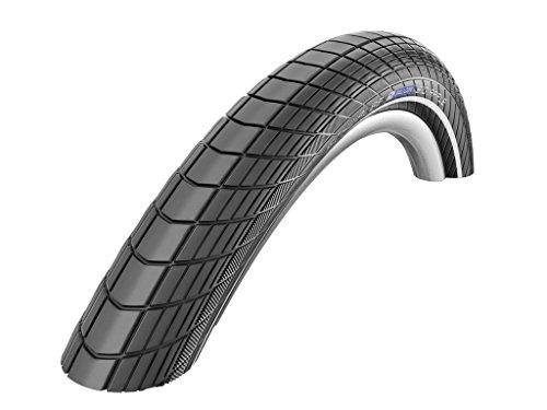 Schwalbe Fahrrad Reifen Big Apple SBC // alle Größen, Ausführung:schwarz Reflex, Drahtreifen, Dimension:50-622 (28×2,00´´)