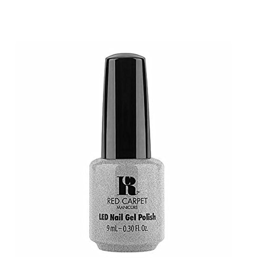 目に見えるニュースクレアRed Carpet Manicure LED Gel Polish - Retro Ready - 9 ml/0.30 oz