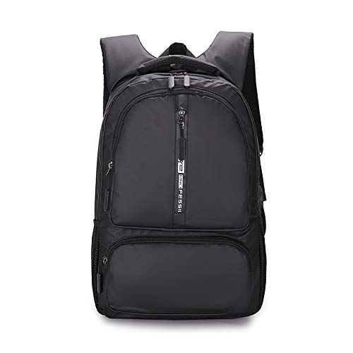 Laptop, 38,1 cm, voor grote steden, modern, neutraal, 20-35 l, met USB-oplaadpoort, Blanco Y Gris (zwart) - 5315201469804