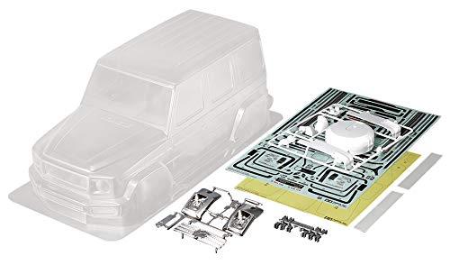 Tamiya Juego Merc-Benz G500 CC-02/01 267 mm, Accesorio para Coche teledirigido, carrocería de Repuesto, maquetas de Control Remoto (51623)