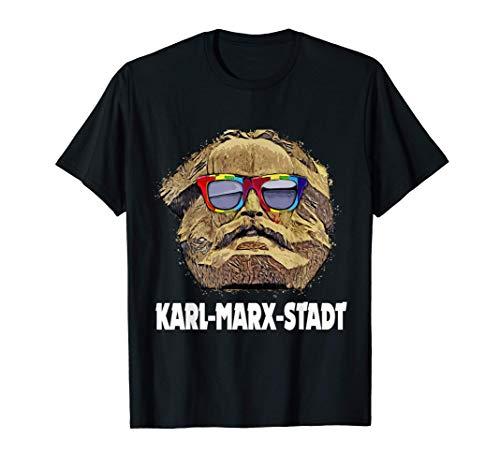 Chemnitz Karl-Marx-Stadt Nischel lustiges Chemnitz T-Shirt