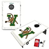 Victory Tailgate Baggo All-Weather Cornhole Boards Set, NCAA Classic with Matching Corn-Filled Bags - Vermont Catamounts