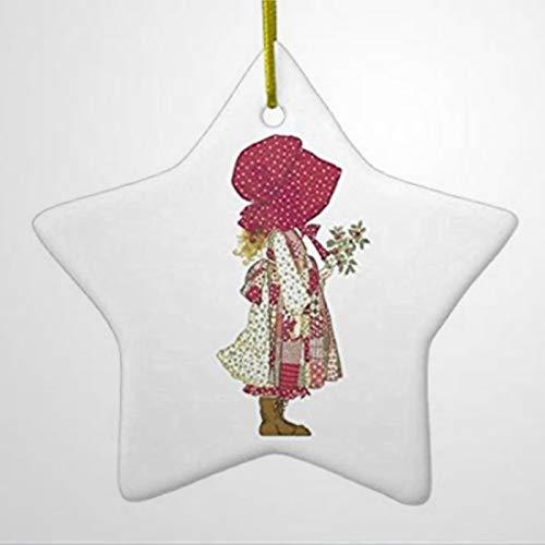 BYRON HOYLE HoLLY HoBBiE Star Ceramic Christmas Ornament Christmas Ornaments Pandemic Xmas Decor Wedding Ornament Holiday Present