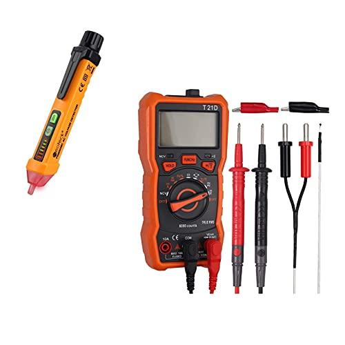 Neoteck TRMS 6000 Auto Ranging Digital Multimeter + Non-Contact Voltage Tester Pen